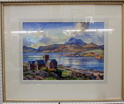 Iona Cathedral and the Peaks of Mull pb10